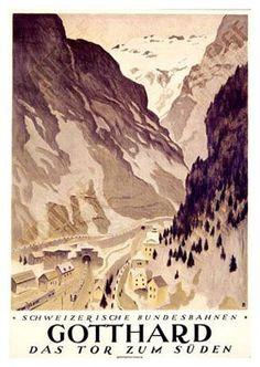 Otto Baumberger, Gotthard, gate to the south