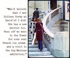 Mona Grant & Colleen Corby (Seventeen Magazine - 1970)
