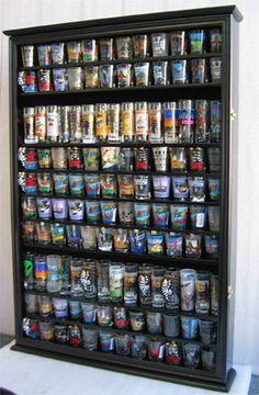 Beer Pint Glass Display Shelf -24 Place - Custom Colors | Glass ...