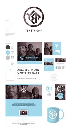huisstijl / logo YEP Ethiopia, 2014