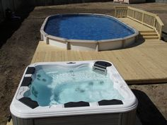 Above Ground Swimming Pools for Backyard : Above Ground Pool Backyard