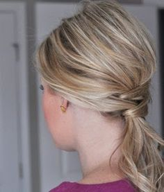 Peinados bonitos y fáciles -DIY -PASO A PASO