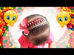 Pull Through Braid, Little Girl Hairstyles, Baby Booties, Little Girls, Minnie Mouse, Braids, Hair Styles, Beauty, Mario Bros