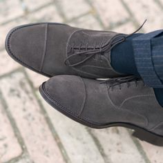 """""""Quality is not an act, it is a habit."""" Aristotele  Sèlvadegh, our #oxford in grey #suede leather available online at www.velasca.com. Link in profile to #shop.  #velascamilano #madeinitaly #shoes #shoesoftheday #shoesph #shoestagram #shoe #fashionable #mensfashion #menswear #gentlemen #mensshoes #shoegame #style #fashion #dapper #men #shoesforsale #shoesaddict #sprezzatura #dappermen #craftsmanship #handmade"""
