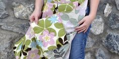 Tutorial for Apron with built-in Hot pads