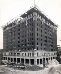 The Forgotten Places of NEPA A photo showing the Hotel Casey in Scranton under construction. The photo is from June of 1910. The hotel was demolished in 2001.