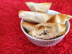 Bricks Poulet, Champignon & Kiri ! Une recette à tester ! #kiri #recette #brick #poulet #gourmand #facile #rapide