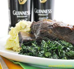 braised short ribs, short ribs recipe, irish recipes, short ribs, chef stuart, guinness braised short ribs