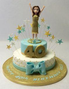 Brilliant Image of Model Of Birthday Cake . Model Of Birthday Cake 2 Tier Birthday Cake With Model Girls Birthday Cakes Birthday Cake Models, 40th Birthday Cake Topper, Fruit Birthday Cake, Special Birthday Cakes, Birthday Cake Decorating, Cool Birthday Cakes, Birthday Cake Girls, Chocolate Drip Cake, Mocha Chocolate
