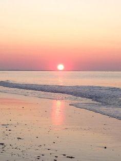 SUNRISE @ Scarborough Beach Narragansett, RI        #VisitRhodeIsland