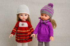 Вязаная одежда для кукол - КуклаМода   VK