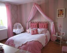 Dormitorios rosa para adolescentes