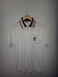 50e66d817348 Vintage Fila Biella Italia Tennis TShirt Sport Clothing Retro tshirt Half  Zip. LacosteRetroNikeSport ClothingSportsVintageT ShirtClothesSport Outfits