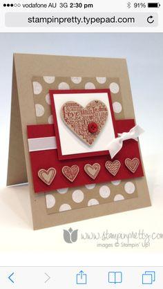 Valentines Cherry Cobbler Hearts