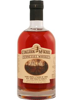 Collier and McKeel Tennessee Whiskey via Caskers  (The other TN whiskey)