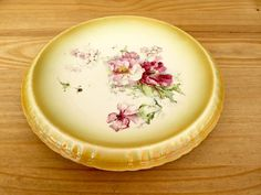 Victorian Bread Cake Plate Antique Platter by QueensParkVintage
