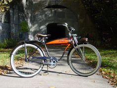 1956 Schwinn built B.F. Goodrich Deluxe Hornet, Found this on Craig's List. Rebuilt the front wheel and repacked the bearings. I ride it regularly. Nevin DeLacour