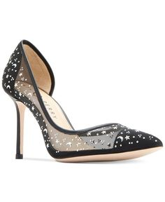 Katy Perry Anne Star D'Orsay Mesh Pumps