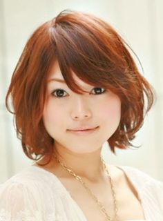 Cute Short Japanese Styled Haircut Girls Asian-Short-Hair-Sty