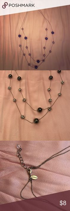 Two chained necklace Two chained necklace from Express. No flaws. ⭐️make an offer ⭐️ Express Jewelry Necklaces