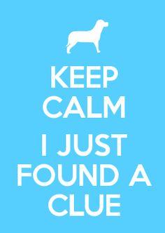 BLUES CLUES!!!!