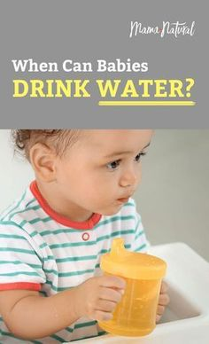 Babies first food is liquid-- whether that's breast milk or formula. But you might be wondering: When can babies drink water? You may be surprised to learn most babies don't need water, and too much water can even be dangerous. Here's what you need to know. https://www.mamanatural.com/when-can-babies-drink-water/