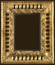 "Italian 17th Century Florentine, 12"" x 10"" x 4"" diegosalazar.com Antique Picture Frames, Old Frames, Antique Frames, Miniature Portraits, 17th Century, Painting Frames, Cool Artwork, Framed Art, Mirrors"