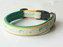 Hundehalsband nach Maß mit Neoprenpolsterung. Der Herstellung erfolgt nach Maß. Preis: 16,95 € Shop-Link: http://leinenspezi.de/shop/#h=1618-1397500179607