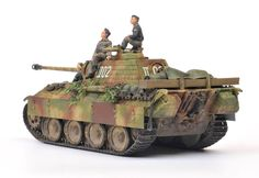 Tamiya + The Tank Workshop 1/48 Panther Ausf. A