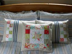 JulieLou : Cushions Diaper Bag, Cushions, Throw Pillows, Bed, How To Make, Home, Toss Pillows, Toss Pillows, Stream Bed