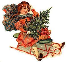 View album on Yandex. Shabby Chic Christmas, Very Merry Christmas, Victorian Christmas, Pink Christmas, Xmas, Vintage Christmas Images, Vintage Christmas Ornaments, Christmas Pictures, Christmas Crafts