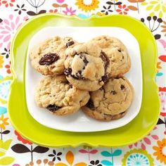 "Mom's Soft Raisin Cookies Recipe -With four sons in service during World War II, my mother sent these favorite cookies as a taste from home to ""her boys"" in different parts of the world. These days, my 11 grandchildren are enjoying them as we did, along with my stories of long ago.— Pearl Cochenour, Williamsport, Ohio"