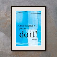 A4 Walt Disney you can do it quote poster. Positive thinking. Motivational poster office wall decor. Typography design. Gift (PO-A4-006) A4 Walt Disney you can do it quote poster. Positive thinking. Motivational poster office wall decor. Typography design. Gift (PO-A4-006) A4 Walt Disney you can do it quote poster. Positive thinking. Motivational poster office wall decor. Typography design. Gift (PO-A4-006) A4 Walt Disney you can do it quote poster. Positive thinking. Positive by inspiring4U