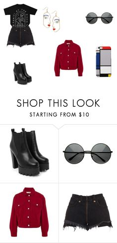 """I miss my childhood"" by withered-faces on Polyvore featuring moda, Nasty Gal, Topshop y Unravel"