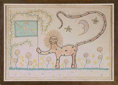 Amuleto - Manuel Mujica Lainez by Iliazd, via Flickr Vintage World Maps, Snoopy, Bohemian, Fictional Characters, Art, Pink, Charms, Art Background, Kunst
