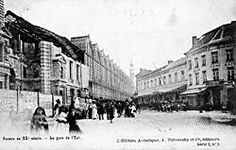 Middenstatie, Pelikaanstraat, 1904