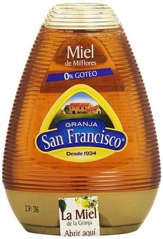 3,98€ - Granja San Francisco - Miel de MILFLORES - 0% Goteo - 425 g