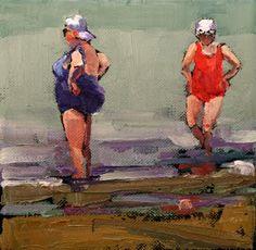 Carol Carmichael Paints  working it 6x6