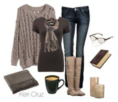 """Autumn Coziness"" by keri-cruz ❤ liked on Polyvore featuring Yuki, Brunello Cucinelli, Missoni, Breckelle's, Arteriors, Baum, Pier 1 Imports and Corinne McCormack"