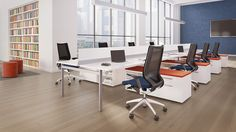 STAKS   First Office  open plan, open space... reconsider, because it can work for our space.