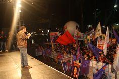 Comício da Vitória - Foto: Fátima Oliveira