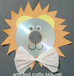Lion Craft | Cd | Easy crafts ideas for kids – Craft projects
