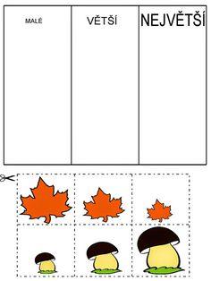 Pro Šíšu: Pracovní listy BARVY TVARY Autumn Activities For Kids, Math For Kids, Book Activities, Kindergarten Centers, Preschool Math, Math Centers, Sudoku, Pre School, Special Education
