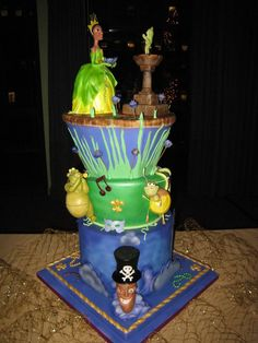 Now on the Disney Inspiration Blogspot: Princess Tiana inspired cake creations! Check out the sweet post now!