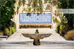 Interior garden Alcázar of Seville sgn