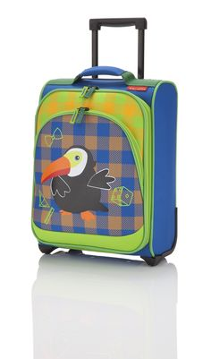 Travelite Youngster Kinder Trolley 2W Tukan - Royal Blau