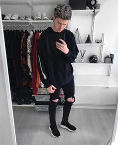 """8,331 Likes, 83 Comments - Joel (@gallucks) on Instagram: """"#ootd and there's a new video over on my YouTube channel ft this Calabasas sweater """""""