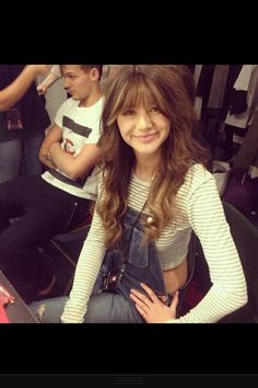 Eleanor and Louis! I absolutely love Els bangs!!!! Possibly done by Lou Teasdale
