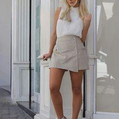 Shorts Saia Linho - Comprar em Framboesa Store