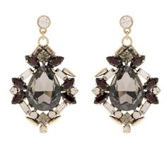Martine Wester - STARGAZER BLACK DIAMOND CLUSTER EARRINGS, £75 (http://martinewester.com/products/stargazer-black-diamond-cluster-earrings.html)